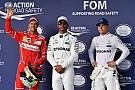 Formule 1 Startgrid Grand Prix van de Verenigde Staten