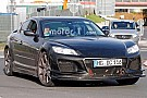 Automotive Mazda spied testing RX-8 powertrain mule for possible RX-9 with rotary engine