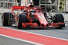 Formule 1 Vettel : Le travail mené à Barcelone