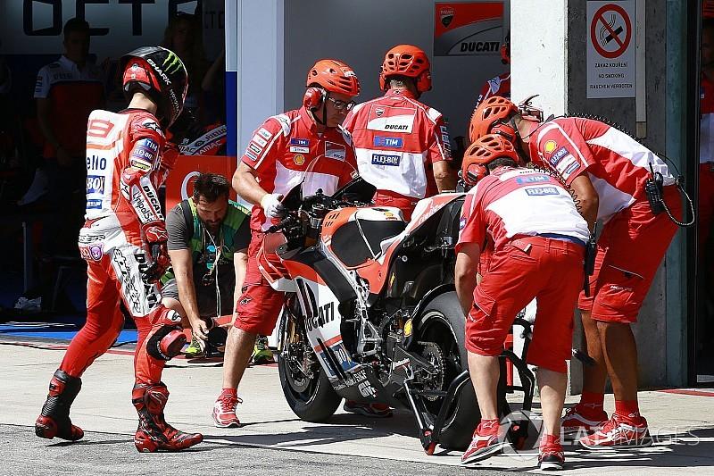 【MotoGP】ロレンソ「ドライ用のバイクが用意できていなかった」