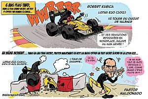 Formule 1 Contenu spécial L'humeur de Cirebox - Kubica, un roulage qui donne des idées