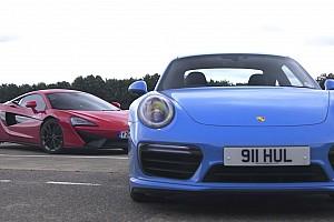 Automotive Breaking news McLaren 540C vs Porsche 911 Turbo S: Sports Cars Or Supercars?