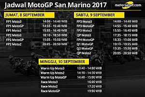 MotoGP Preview Jadwal lengkap MotoGP San Marino 2017