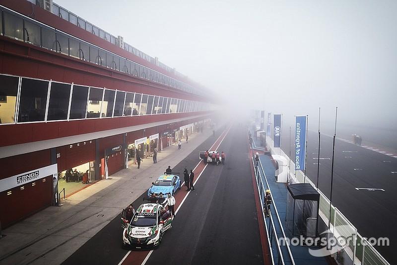 La niebla demora el comienzo del WTCC en Termas