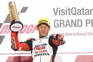 最高の気分、言葉が見つからない! Moto3初優勝、鳥羽海渡が喜びを語る