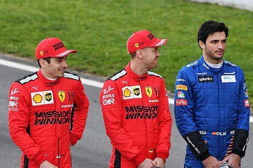 Verstappen, Ferrari'de Ricciardo'nun değil, Sainz'ın yarışmasını bekliyor
