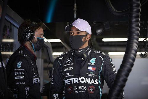 """Hamilton: """"Brutto ultimo giro. Ho lavorato tanto per la gara"""""""