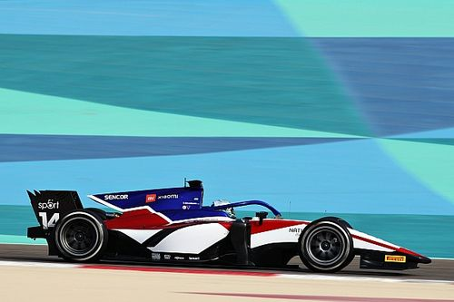 Rookie Beckmann ends first F2 Bahrain test day on top