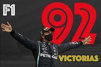 GALERÍA: Todas las victorias de Hamilton en F1