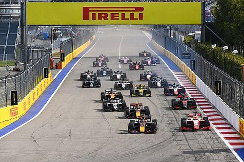 سباقات الفورمولا 2 و3 ستُقام في جولات منفصلة في 2021