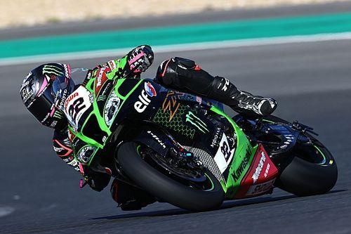 Kawasaki WSBK-rijder Lowes geblesseerd na trainingscrash