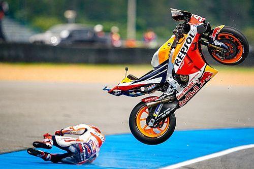 Rea Klaim Ban Michelin Penyebab Insiden di MotoGP