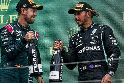 F1: Vettel é desclassificado e Hamilton herda 2º lugar na Hungria; entenda