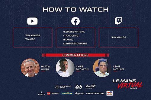 Mira la clasificación de la Le Mans Virtual Series y las carreras de la Copa