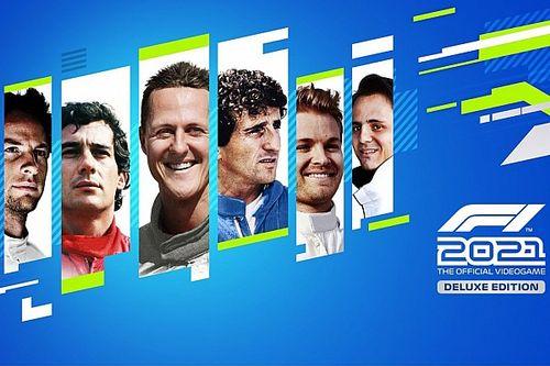 Game F1 2021 terá Senna com mesma avaliação de Schumacher e acima de Prost