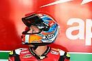 Гонщик WSBK Савадори протестирует мотоцикл MotoGP команды Aprilia
