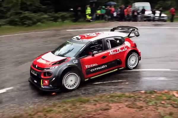 WRC Noticias de última hora VIDEO: Sébastien Loeb prueba el C3 WRC