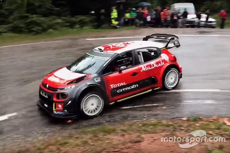 Себастьен Леб вернулся за руль машины WRC: видео