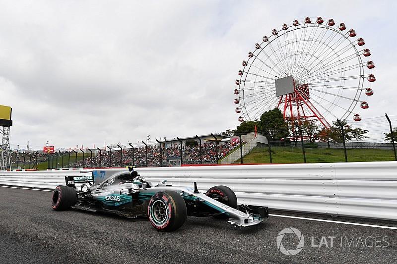 Mesmo batendo, Bottas domina TL3 em Suzuka; Massa é 11º