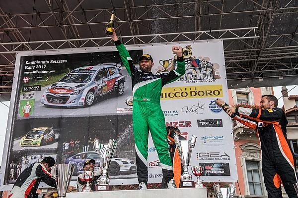"""Rally Svizzera Intervista Ballinari: """"La vittoria giusto premio a una stagione eccezionale"""""""