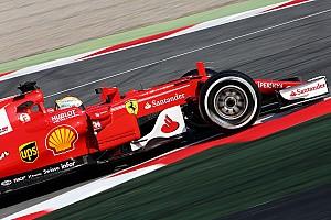 Barcelona F1 test: Vettel on top as Red Bull, McLaren hit trouble