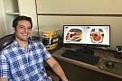El diseñador del casco de Hamilton casi no participa en el concurso