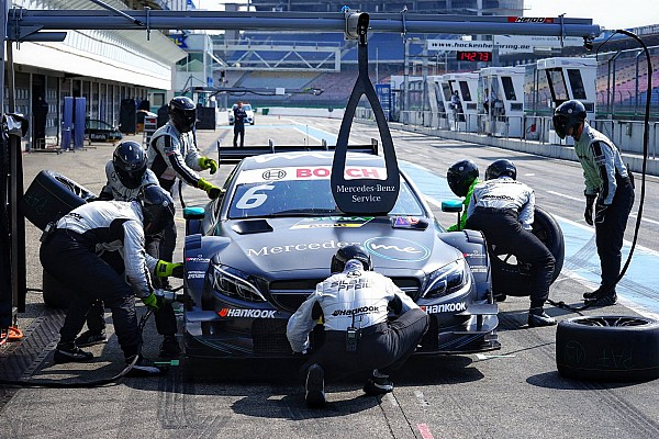 DTM Testverslag DTM-test Hockenheim: Mercedes opnieuw vooraan