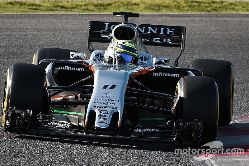 Force India: Pérez