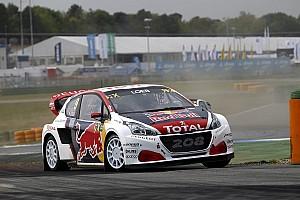 World Rallycross Sıralama turları raporu Hockenheim WRX: Loeb sıralama yarışlarını zirvede bitirdi