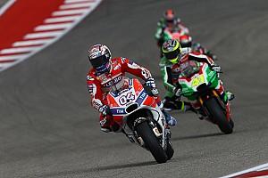 """MotoGP Noticias de última hora Dovizioso: """"Muy malas noticias, la pista ha empeorado mucho"""""""