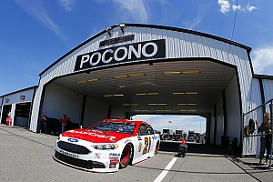NASCAR Cup Отчет о гонке Блэни одержал первую в карьере победу в NASCAR