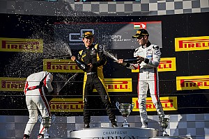 GP3 Reporte de la carrera Victoria de Alesi en GP3