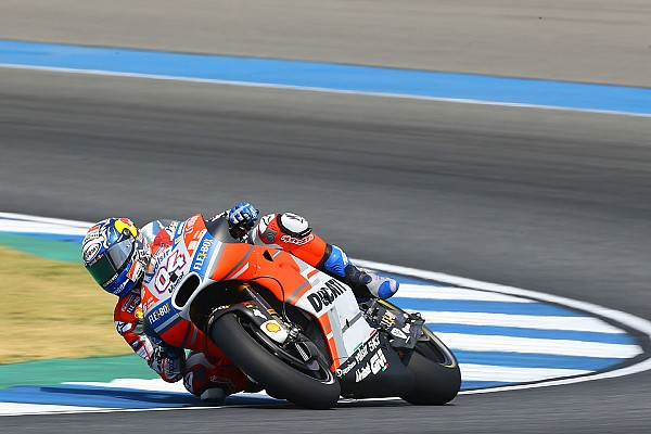 Une première journée axée sur le carénage pour Ducati
