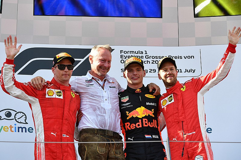 Положение в чемпионате после Гран При Австрии