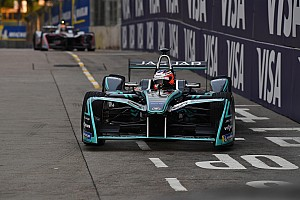 Formula E Practice report Hong Kong ePrix: Evans leads practice as Buemi hits the wall