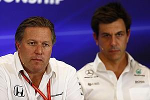 Mercedes für Zak Brown noch bis 2021 jedes Jahr klarer Favorit