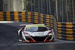 """Van der Zande geeft Honda NSX vuurdoop in Macau: """"Een levendig beestje!"""""""