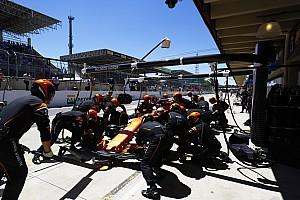 A Pirelli lefújta a gumitesztet a McLarennel