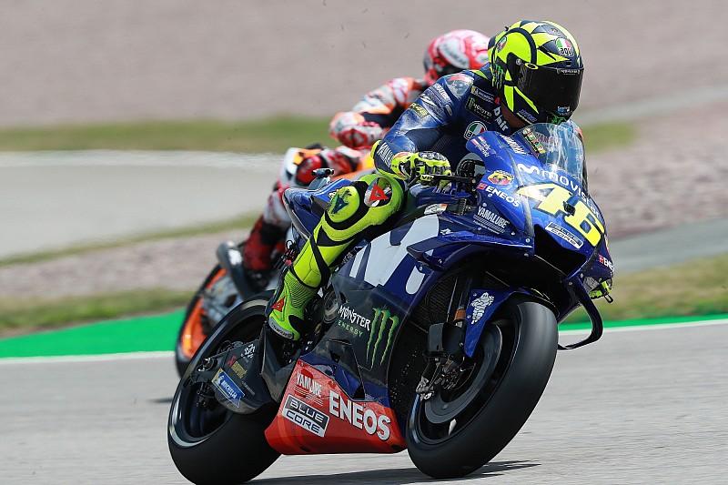 Rossi estudió la carrera del año pasado para lograr su mejor resultado de 2018