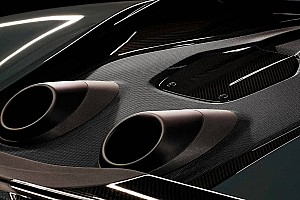 Automotive Breaking news McLaren teases vertical-exit exhausts for upcoming mystery model