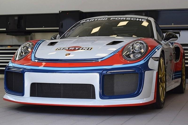 El nuevo 'Moby Dick': Porsche 911 GT2 RS Martini Racing