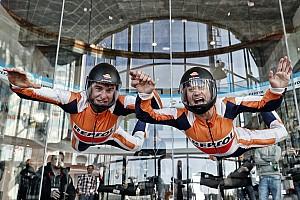 MotoGP Artículo especial Vídeo y fotos: Márquez y Pedrosa vuelan sin moto