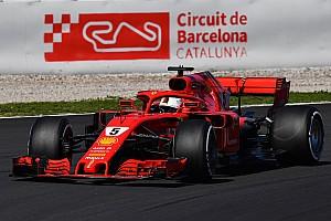 Formel 1 Testbericht Formel-1-Test Barcelona: Ferrari schnell, Mercedes trotzdem WM-Favorit?