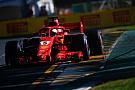 Avustralya GP 3. Antrenman: Yağmurlu seansta Vettel lider!