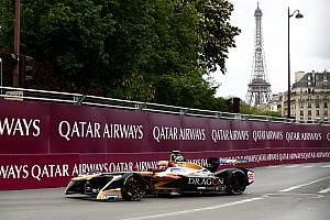 Формула E Отчет о гонке Вернь выиграл гонку Формулы Е в Париже