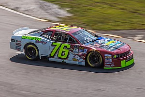 NASCAR Canada Breaking news Cayden Lapcevich takes NASCAR Pinty's Series championship points lead