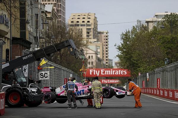 Force India poltert über Räikkönen-Crash:
