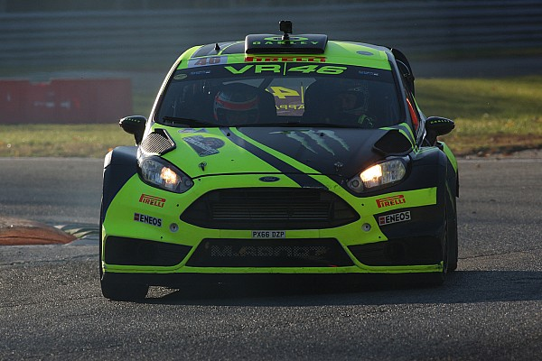 Rossi takes record-breaking sixth Monza Rally win