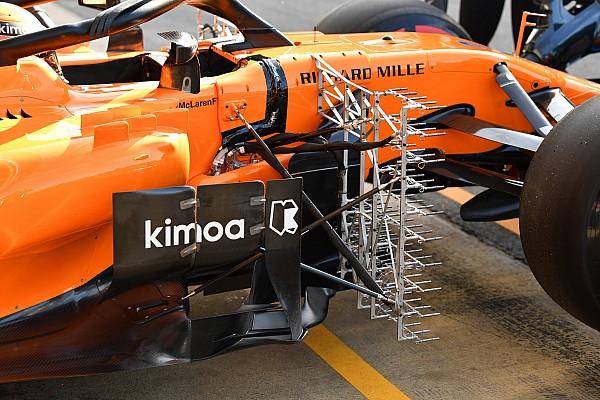 Formule 1 Contenu spécial Technique - Les innovations vues en essais à Barcelone