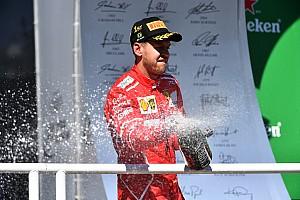 F1 Noticias de última hora Vettel dice que la victoria fue